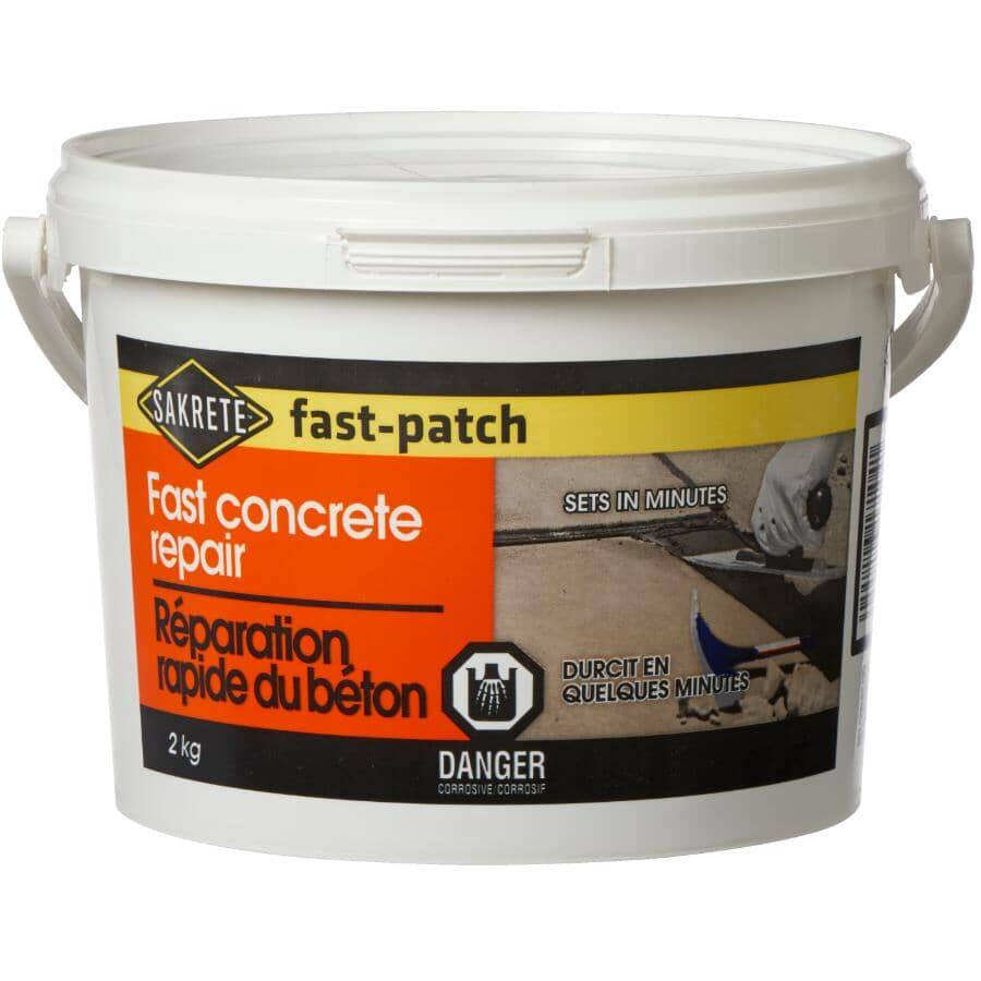 SAKRETE:Répare-béton à prise rapide fast-patch, 2 kg
