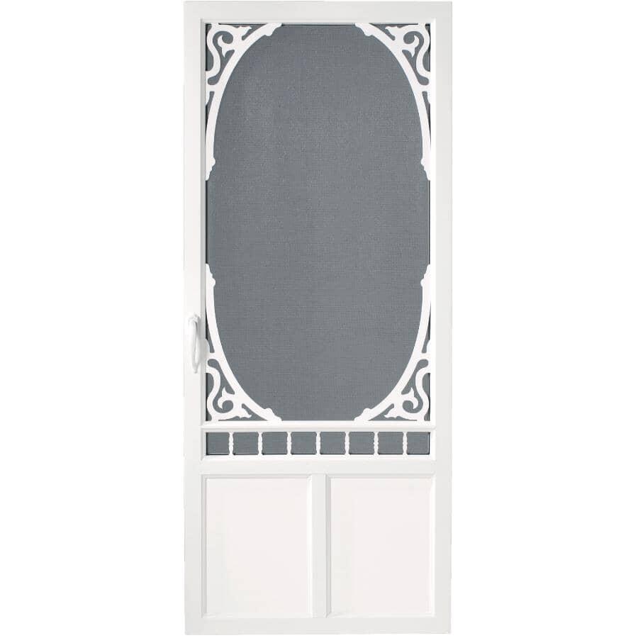 """AMHERST:36"""" X 80"""" Brookside PVC Screen Door"""