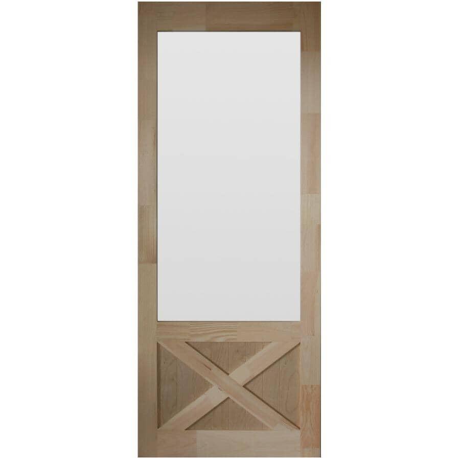 """AMHERST:32"""" x 82"""" Thompson Pine Screen Door"""