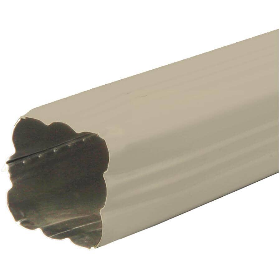 "KAYCAN:2-1/2"" x 2-1/2"" x 10' Khaki Aluminum Gutter Downpipe"