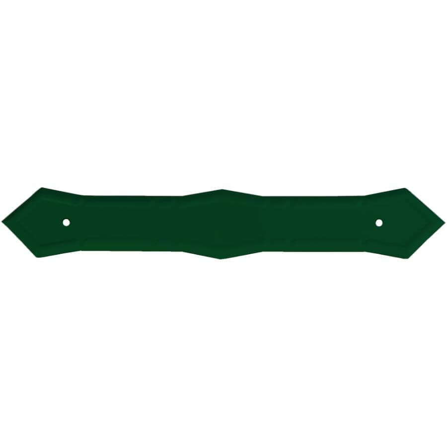 KAYCAN:Forest Green Semi Gloss Aluminum Gutter Pipe Strap