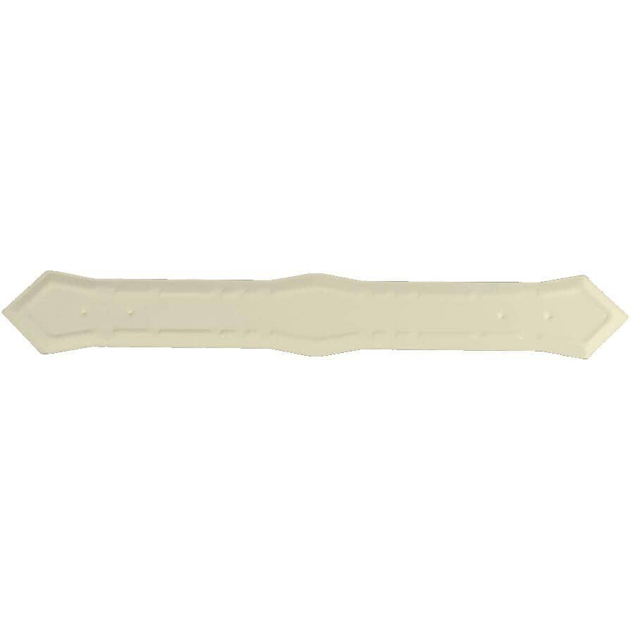 "KAYCAN:5"" K-Style Ivory Outside Aluminum Gutter Mitre"