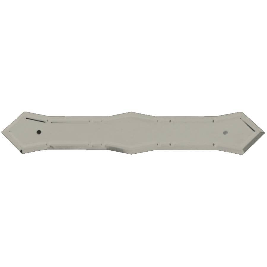 KAYCAN:Pearl Grey Aluminum Gutter Pipe Strap