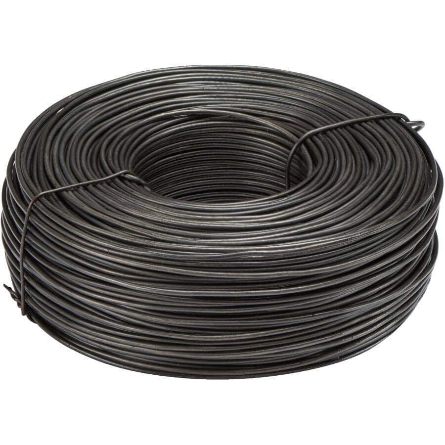 COUNTRY HARDWARE:3-1/8lb x 16.5 Gauge Black Rebar Tie Wire