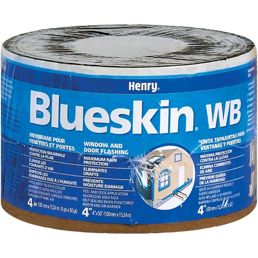 """BLUESKIN:4"""" x 50' Roll Weather Barrier"""