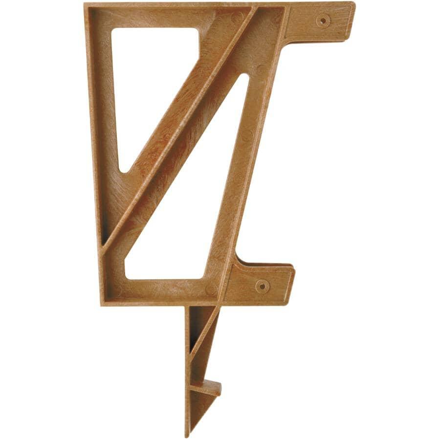 2X4 BASICS:Redwood Bench Bracket