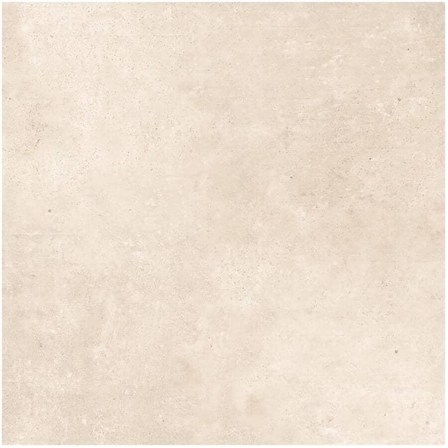 "DURA-TILES:2 Pack 8 sq. ft. 24"" x 24"" Ontario Collection Blanco Exterior Porcelain Tile Flooring"