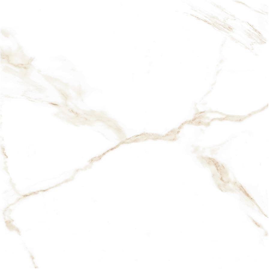 """CENTURA:Naos Collection 24"""" x 24"""" Porcelain Tile Flooring - Gold Brillo, 15.83 sq. ft."""
