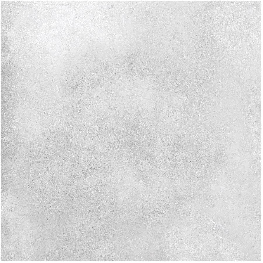 "CENTURA:Galaxy Collection 24"" x 24"" Porcelain Tile Flooring - White Brillo, 15.5 sq. ft."