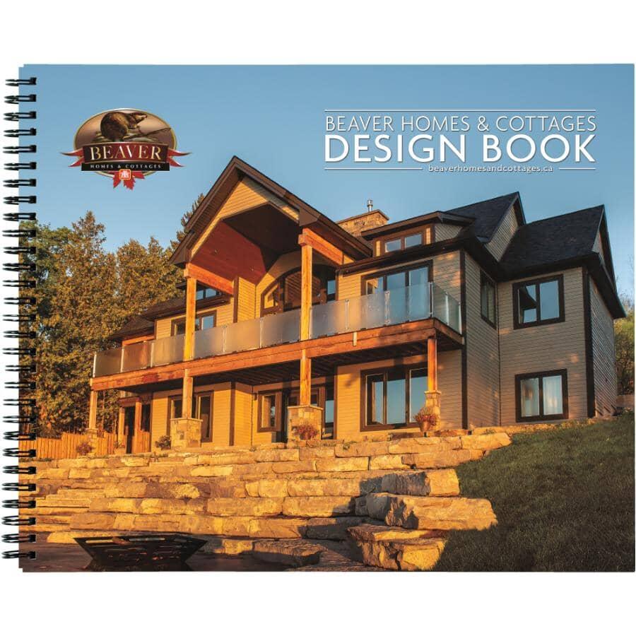 HOME BUILDING CENTRE:Livre de plans de maisons et de chalets Beaver Home & Cottage 2021, anglais