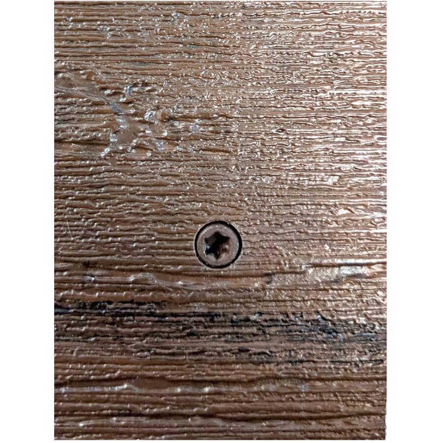 """TRUNORTH DECK:350 Pack #10 x 2-3/4"""" Mocha/ Tropical Walnut TruNorth Screws"""