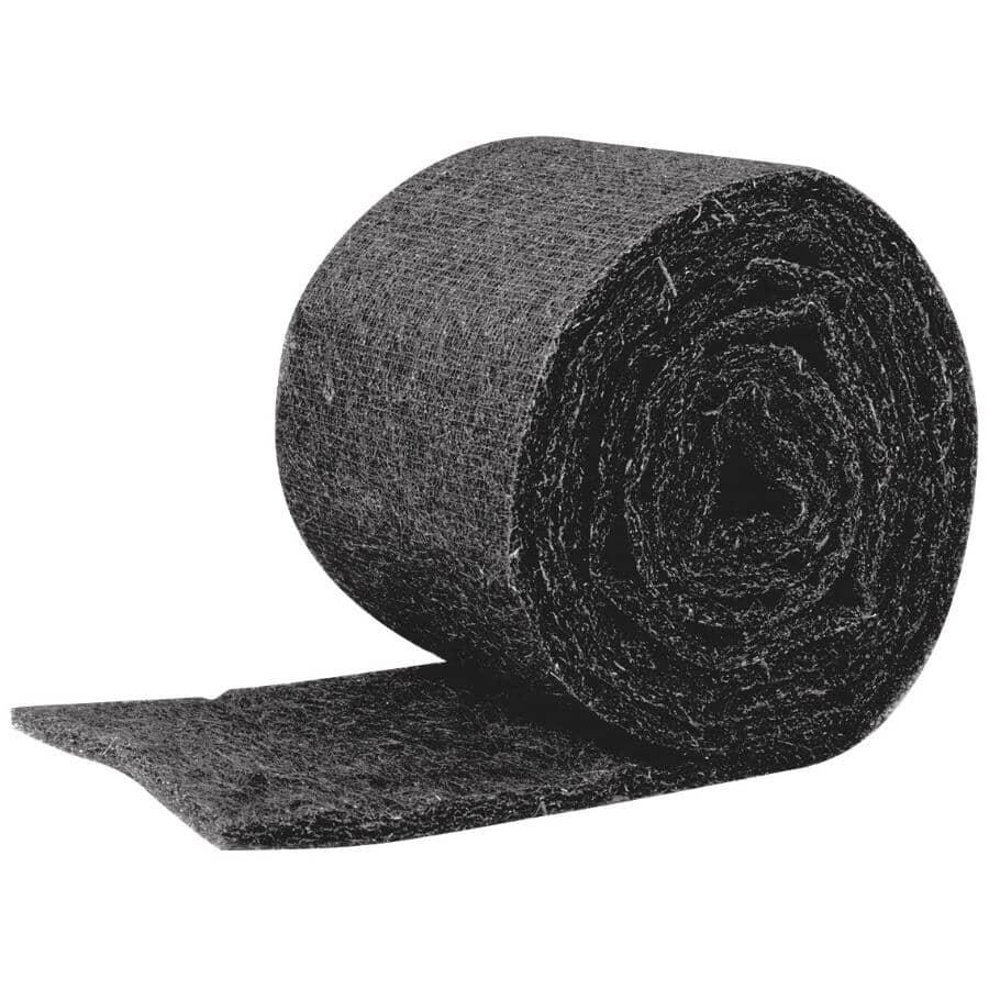 "DURAFLO:Ridgeroll Composite Roof Ridge Vent Roll - Black, 11.5"" x 20'"