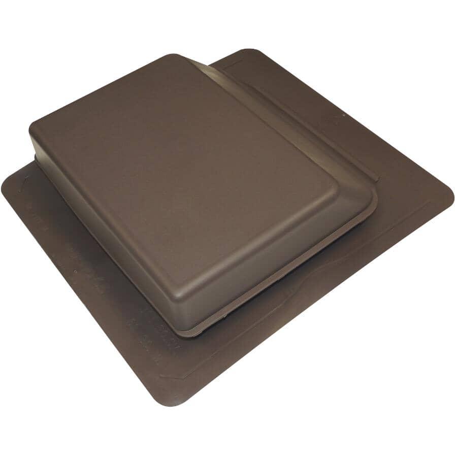 DURAFLO:Évent de toit à paroi inclinée en plastique, brun