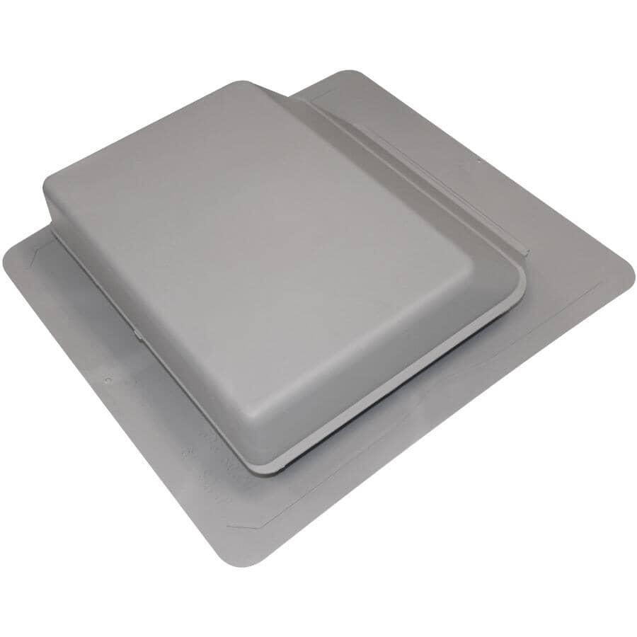 DURAFLO:Grey Plastic Slant Back Roof Vent