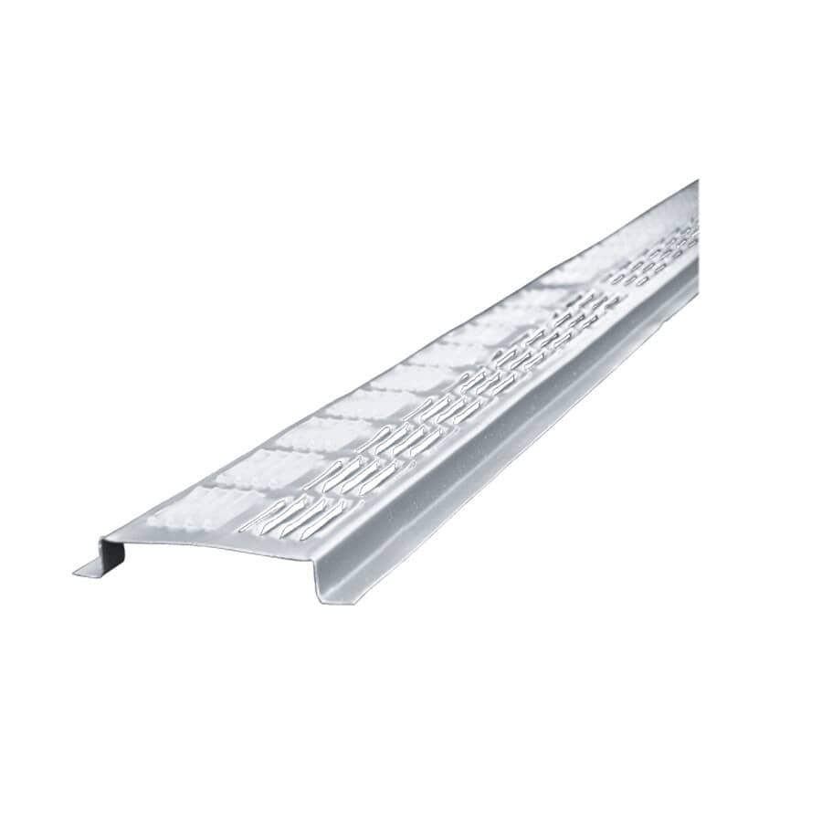 AIR VENT:8' Aluminum Vent-a-Strip Soffit Vent