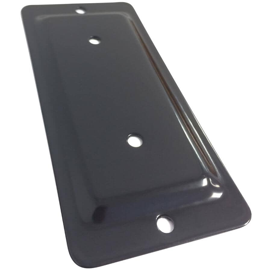 FIXPLAK:Raccord bois-bois de 2 po x 4 po, noir