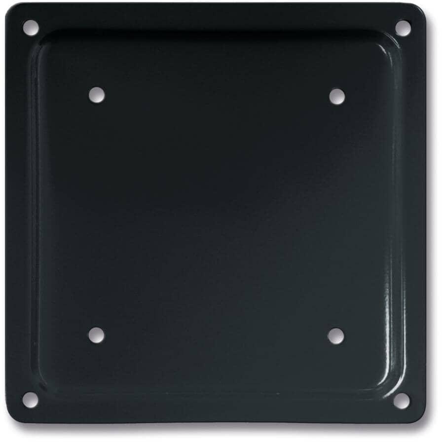 "PYLEX:6"" x 6"" Black Fixplak Connector"