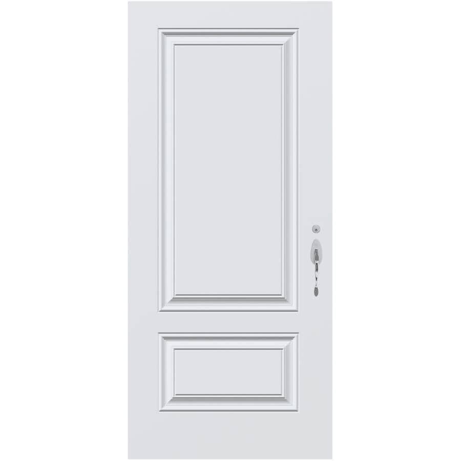 """DIMENSIONS PORTES ET FENETRES:34"""" x 80"""" XE Plus Left Hand Steel Door"""