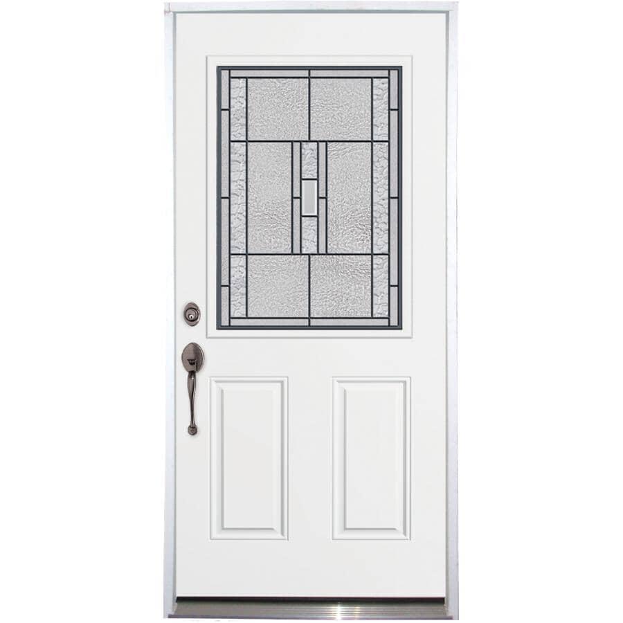 """DOORSMITH:34"""" x 80"""" Titan Right Hand Steel Door, with 22"""" x 36"""" Lite"""