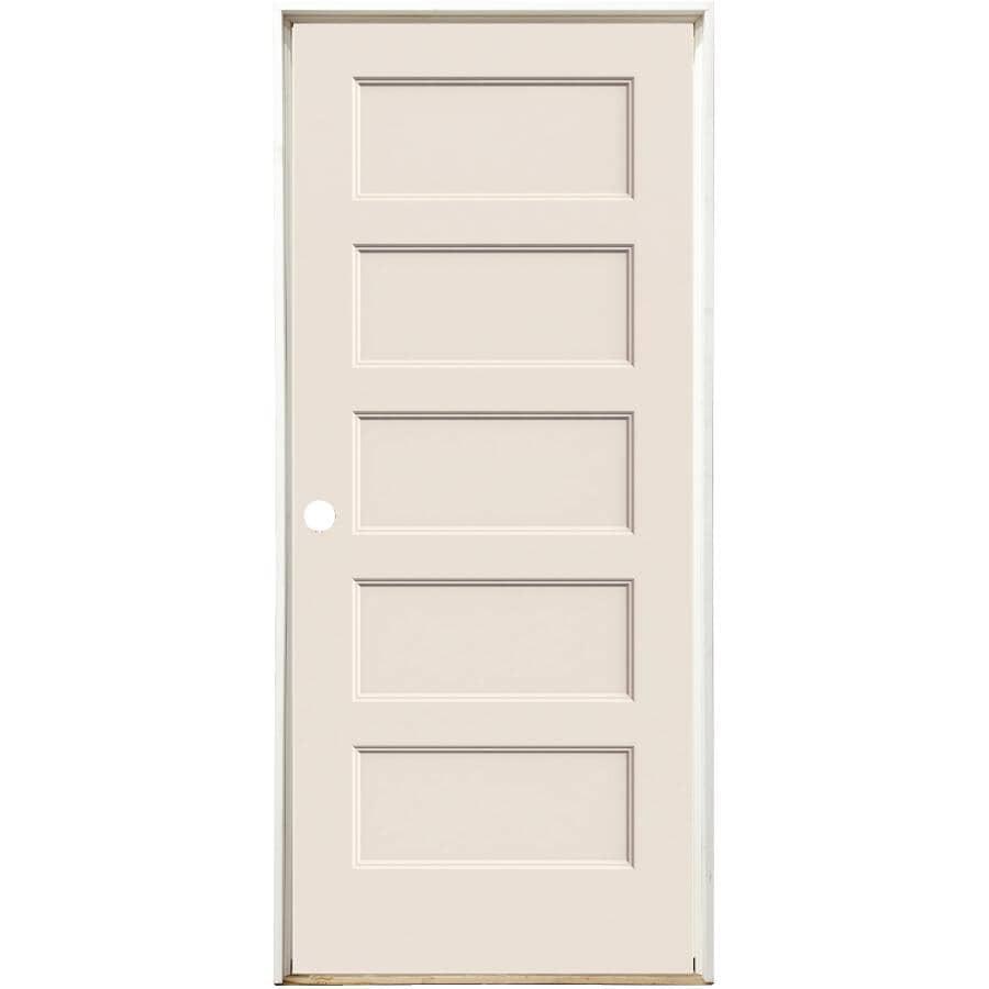 """JELD-WEN:24"""" x 80"""" Conmore Right Hand Pre-hung Door"""
