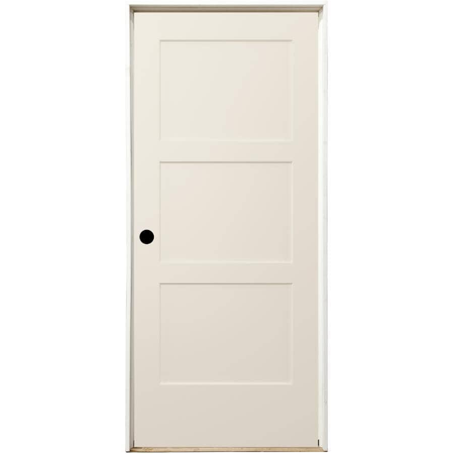 """JELD-WEN:28"""" x 80"""" Birkdale Right Hand Pre-Hung Door"""