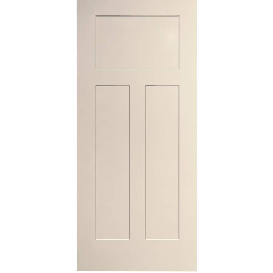 """JELD-WEN:18"""" x 80"""" Craftsman Easy-Install Door, with Medium Density Fibreboard Jamb"""