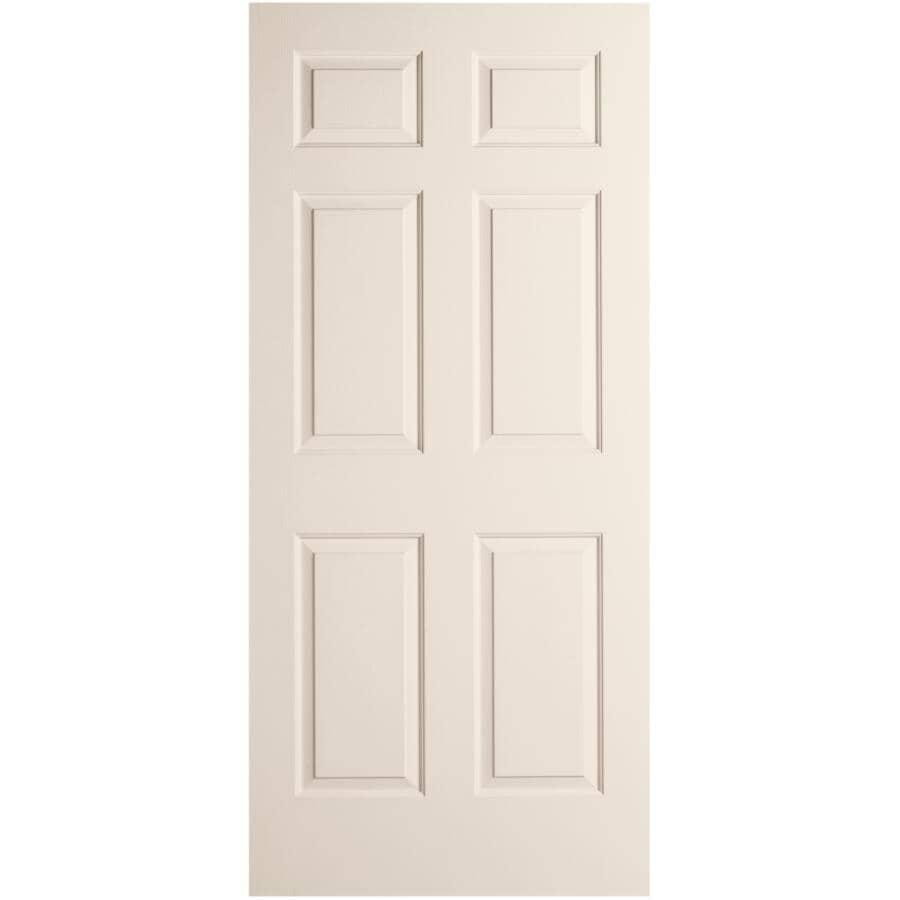 """JELD-WEN:30"""" x 80"""" Colonist Textured Right Hand Pre-hung Door"""