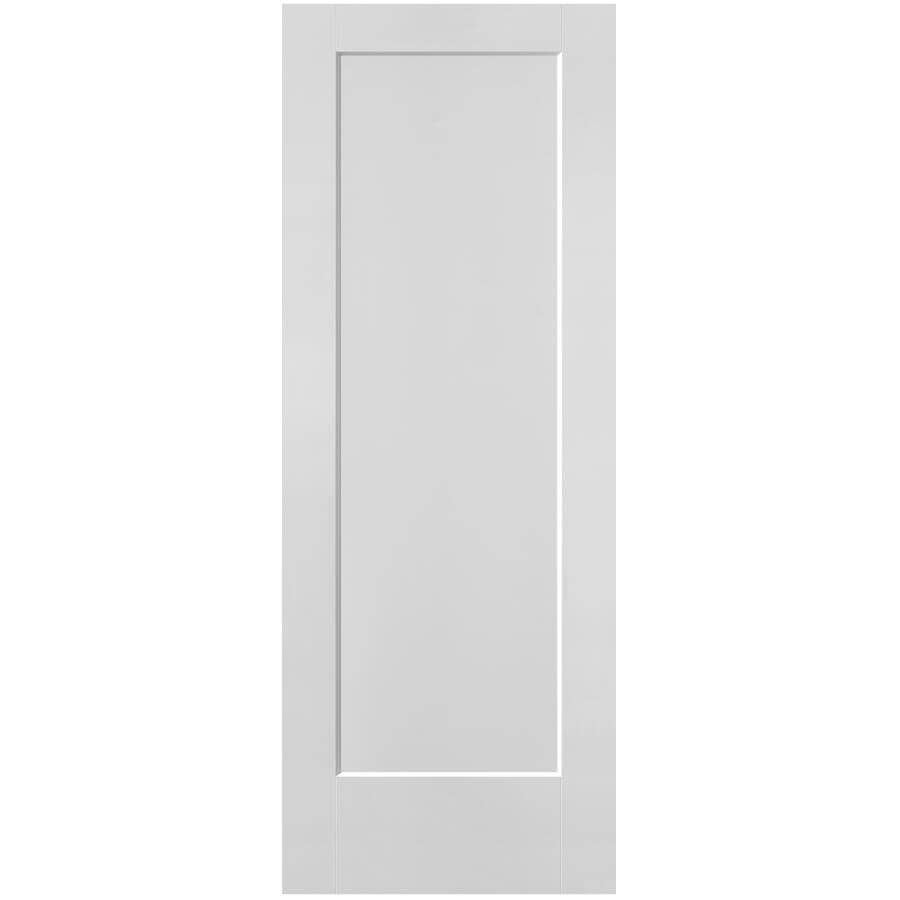 """MASONITE:32"""" x 80"""" Lincoln Park Right Hand Pre-Hung Door, with Primed Finger Joint 4-9/16"""" Rabbeted Jamb"""
