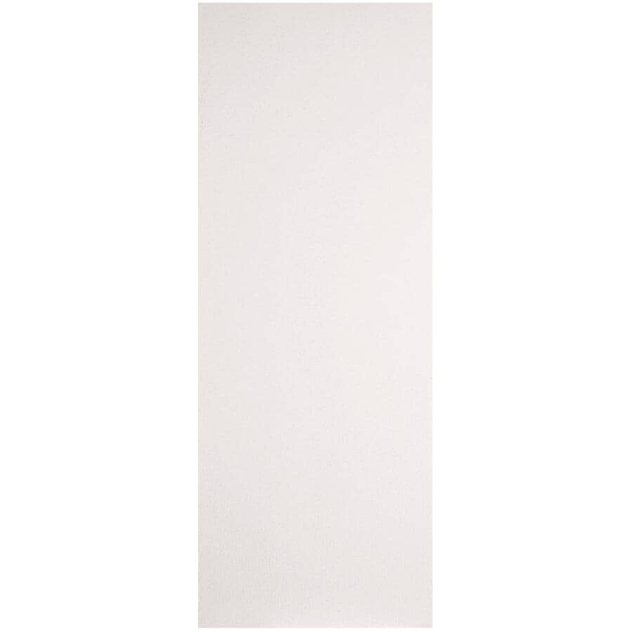 """MASONITE:30"""" x 80"""" Primed Hardboard Right Hand Pre-Hung Door - with 4-9/16"""" Rabbeted Jamb"""