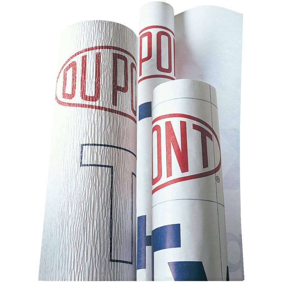 TYVEK:9' x 100' Roll Housewrap - Covers 900 sq. ft.