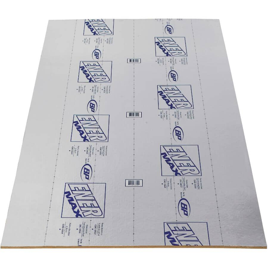 BUILDING PRODUCTS OF CANADA:Panneau de fibres Enermax de 1/2 po x 4 pi x 8 pi