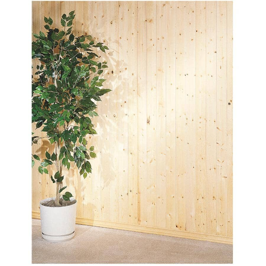 CANWEL:8' Beaded #1 Pine Panel, covers 14 sq. ft.