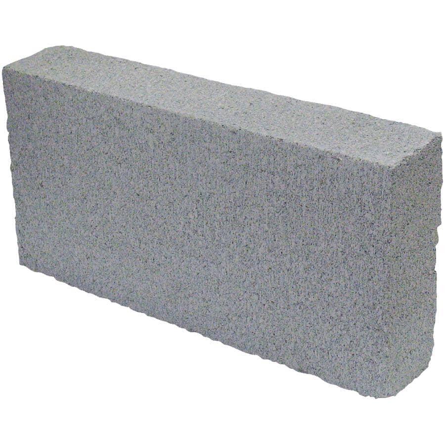 "PERMACON:3"" x 8"" x 16"" Grey Solid Cement Block"