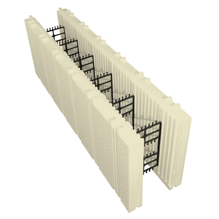 "ADVANTAGE ICF SYSTEM:6"" Standard Insulation Form"