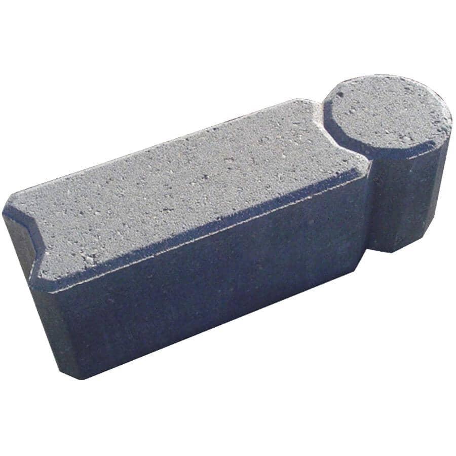EXPOCRETE:Charcoal I-Con Edger Block