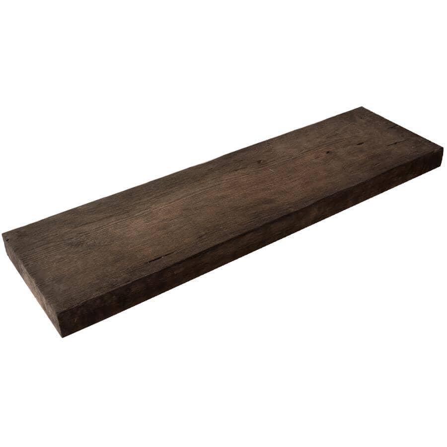 "BARKMAN CONCRETE:35"" x 10"" x 2"" Cedar Brown Plank Patio Stone"
