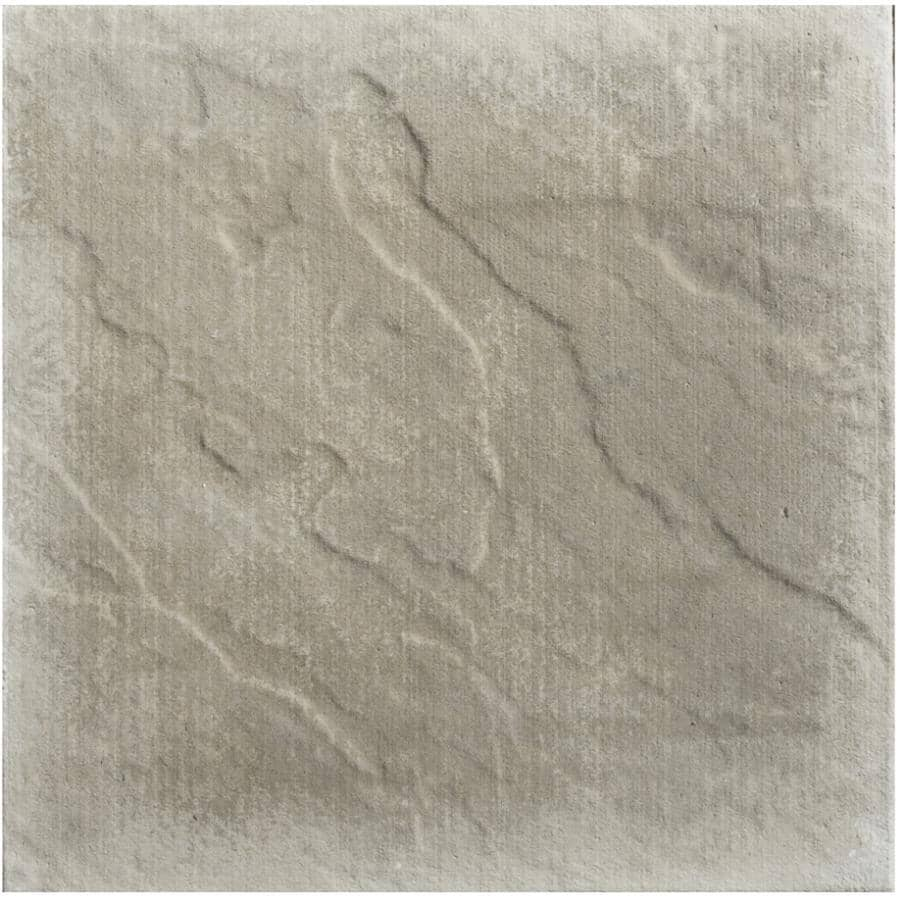 "BROOKLIN CONCRETE:18"" x 18"" Ledgerock Natural Patio Stone"