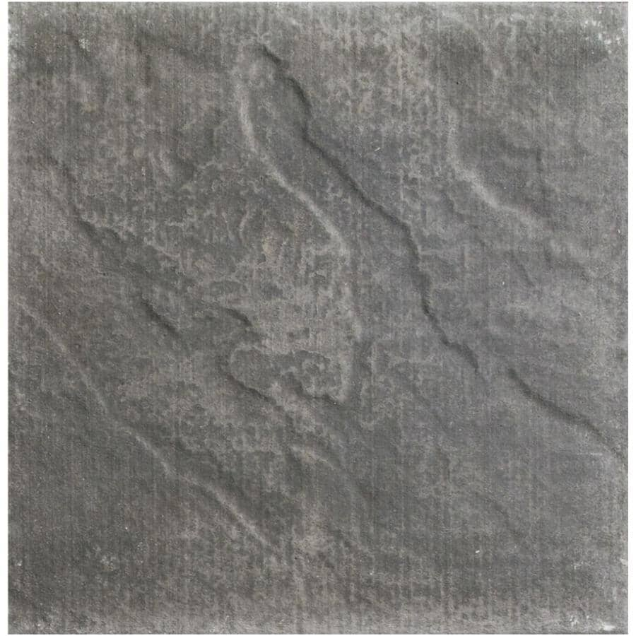 "BROOKLIN CONCRETE:24"" x 24"" Ledgerock Charcoal Patio Stone"