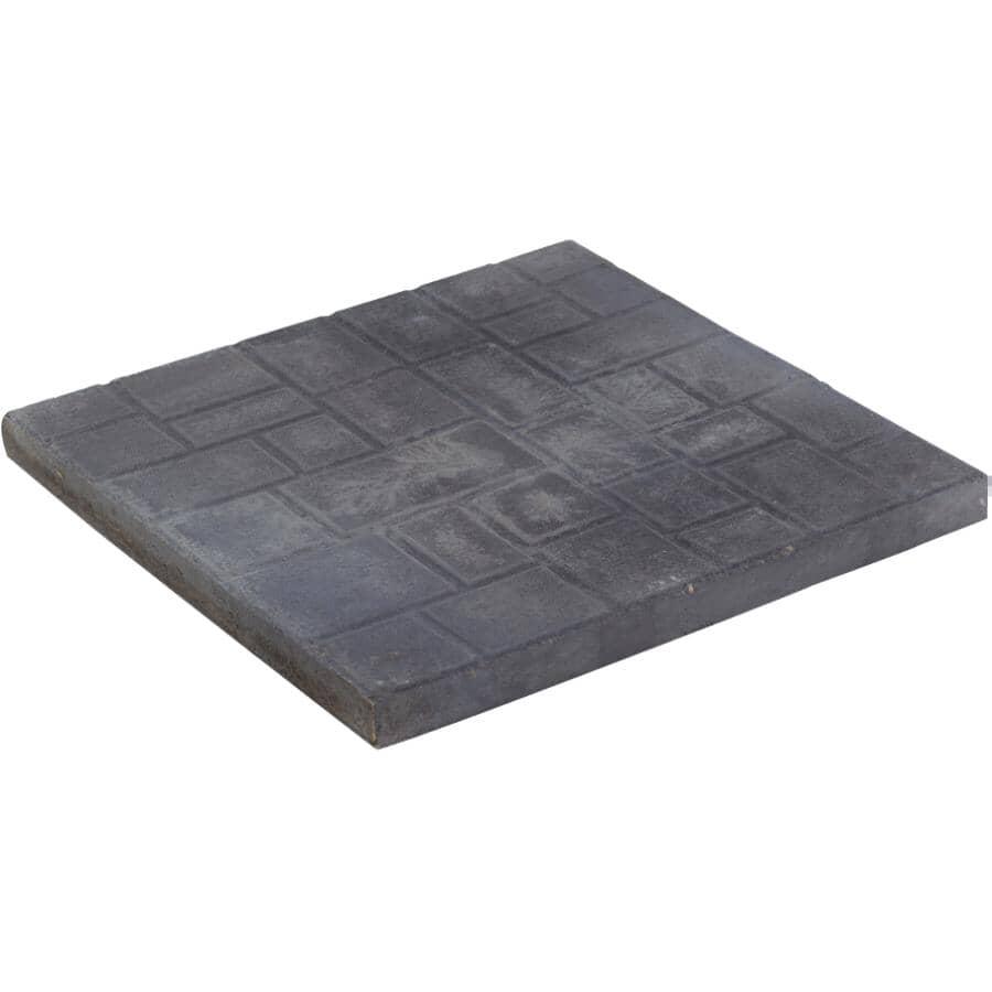 "EXPOCRETE:24"" x 24"" Athen Square Charcoal Patio Stone"
