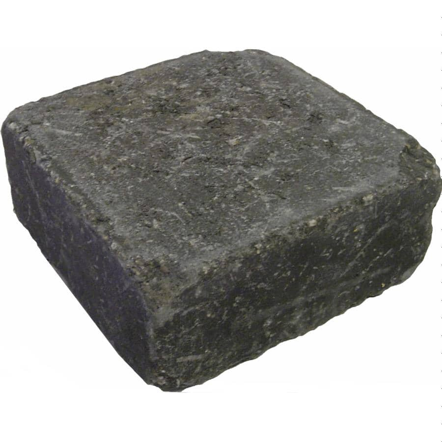 "EXPOCRETE:6"" x 6"" Roman Euro B Charcoal Paving Stone"