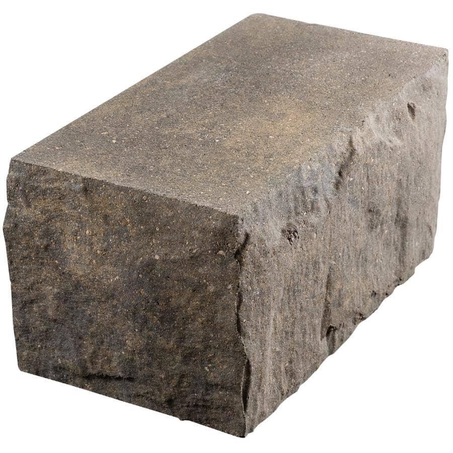 BARKMAN CONCRETE:Sierra Grey Hewnstone Retaining Wall Corner Stone