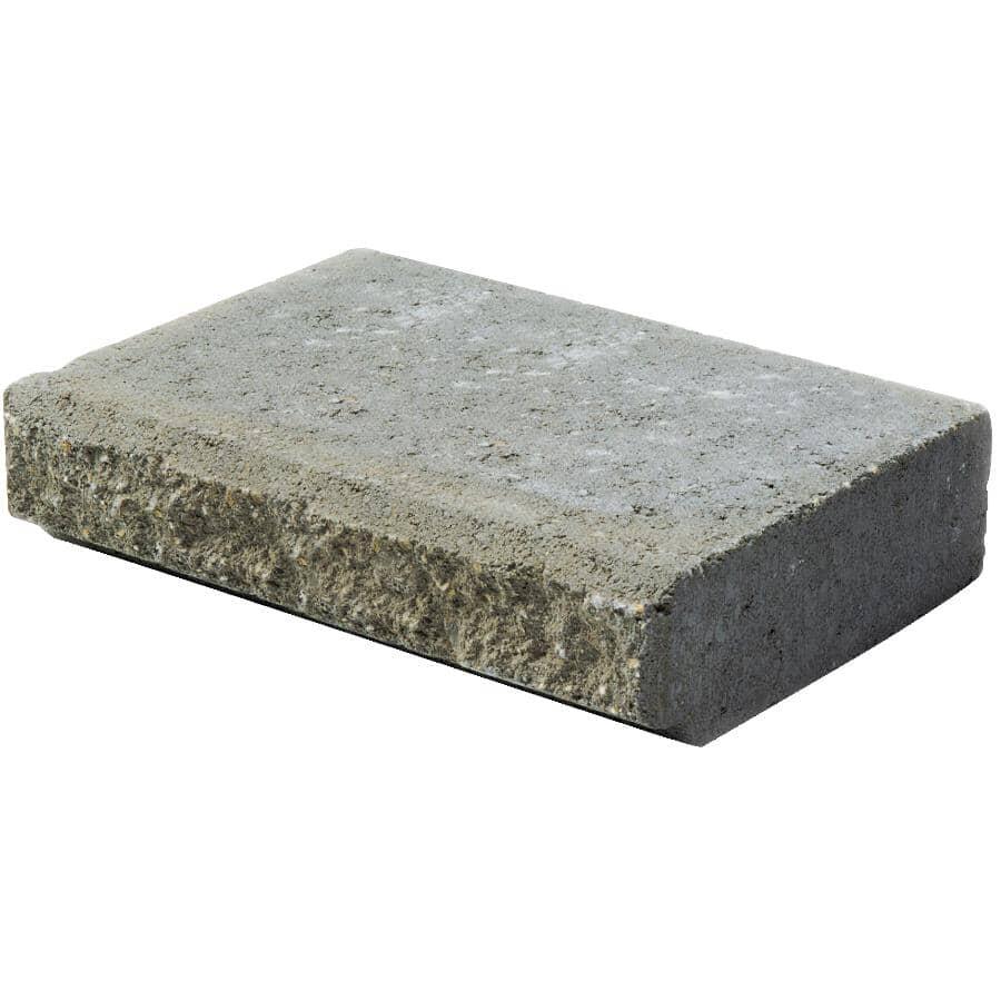 "EXPOCRETE:11-3/8"" x 11-1/4"" x 3-5/8"" Grey Allen Block Jumbo Retaining Wall Stone Cap"