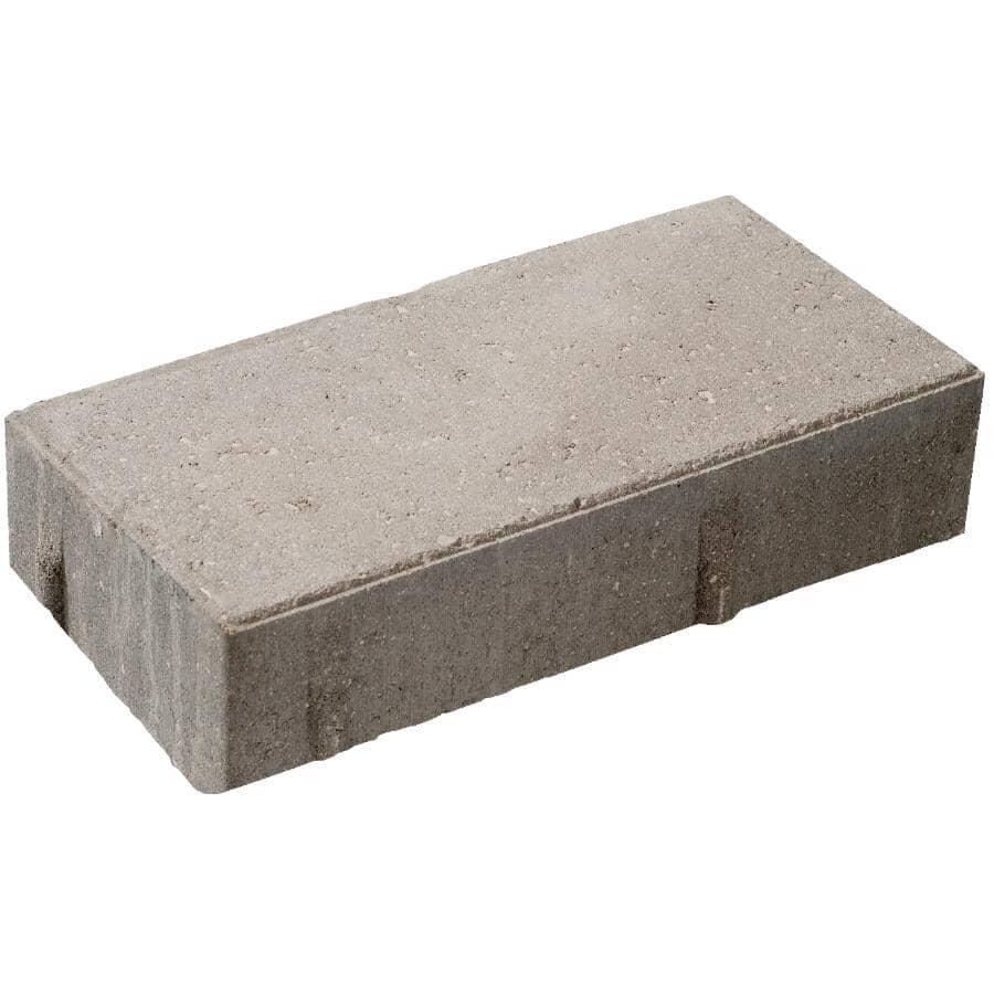 """BARKMAN CONCRETE:12"""" x 6"""" x 2.5"""" Broadway Natural Plank Patio Stone"""