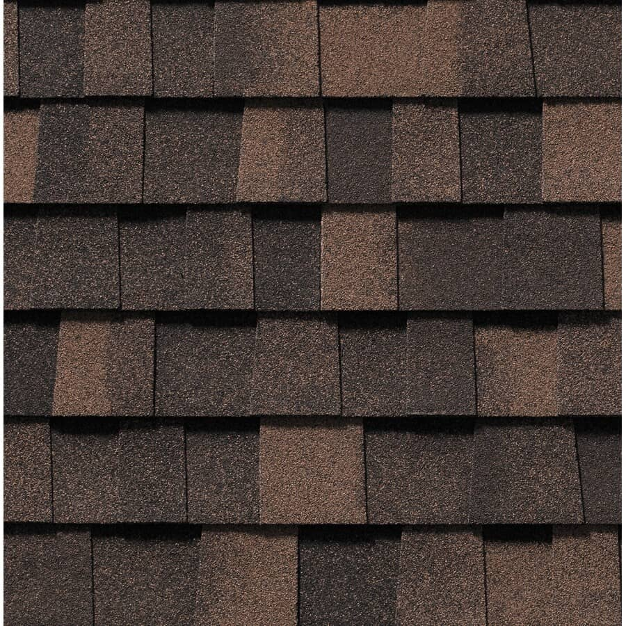 BUILDING PRODUCTS OF CANADA:Everest Autumn Brown Fibreglass Shingles