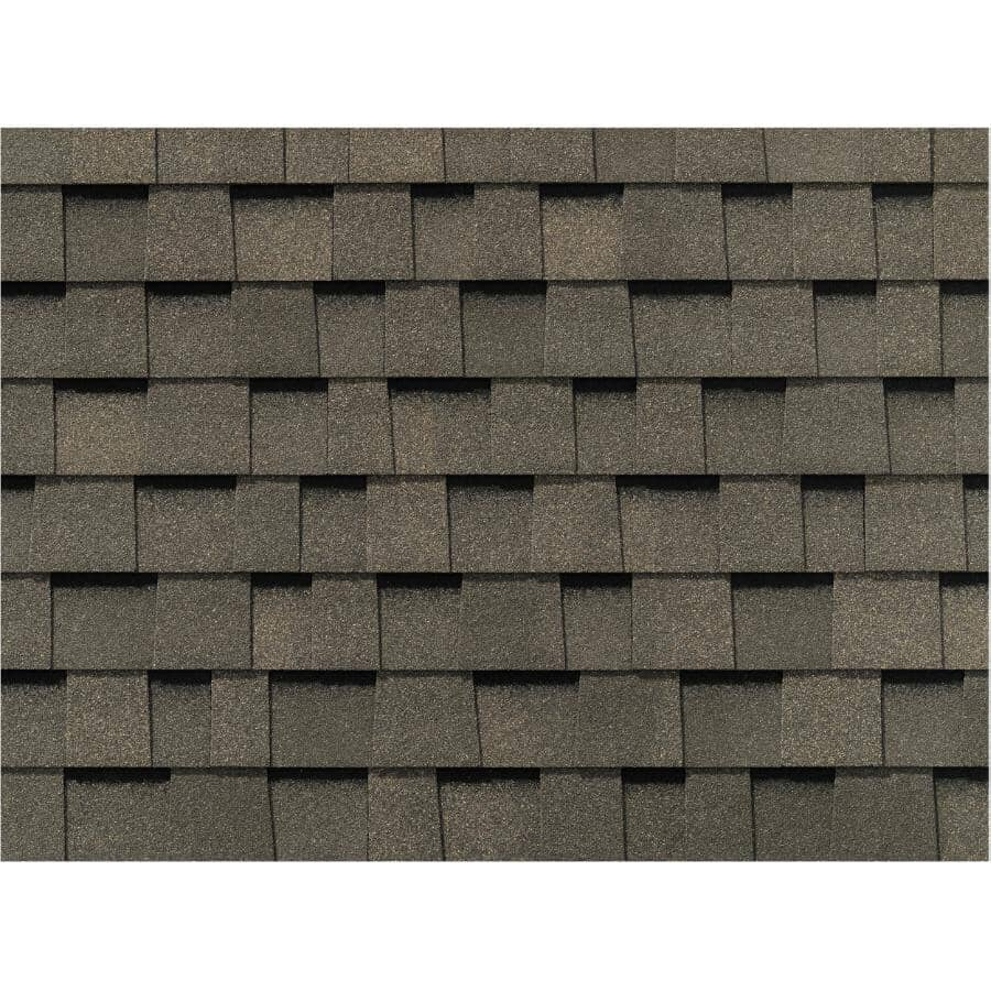 BUILDING PRODUCTS OF CANADA:Everest Fossil Wood Fibreglass Shingles