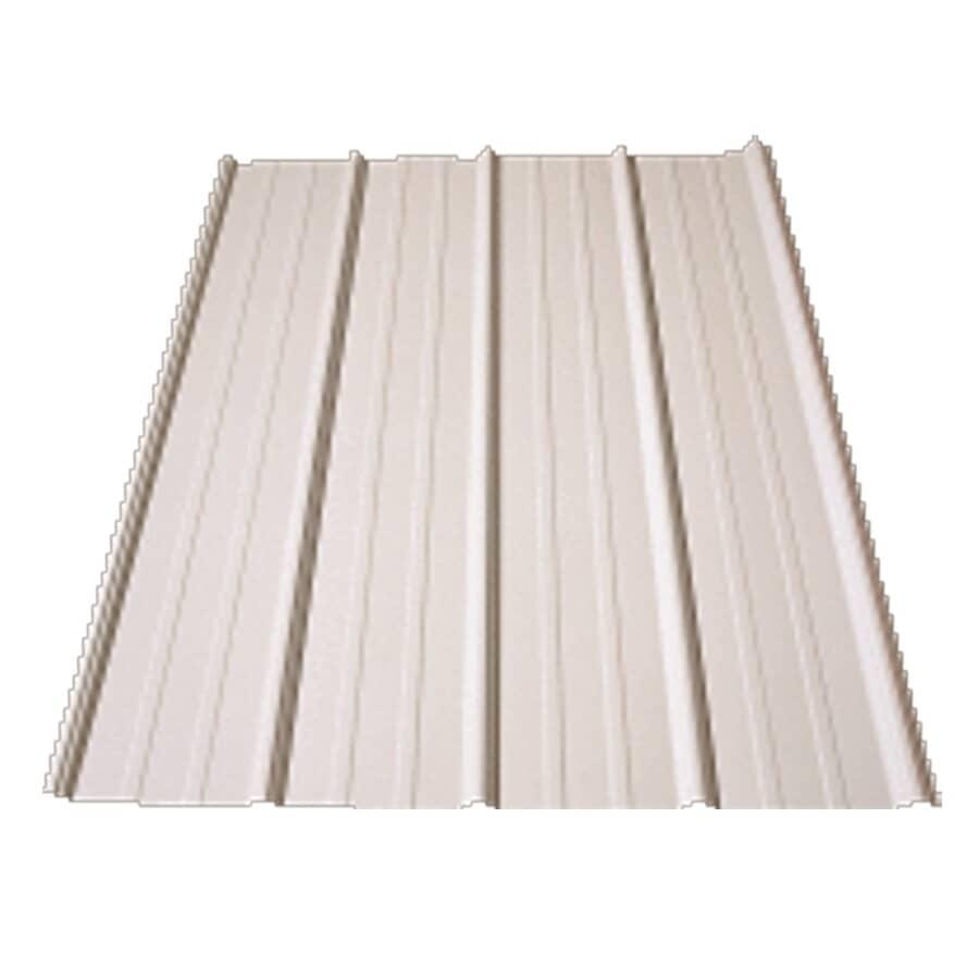IDEAL ROOFING:29 Gauge Bone White Metal Roofing