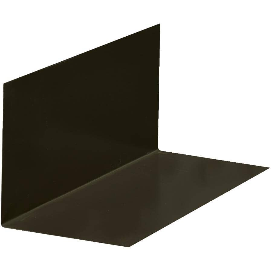 """BAILEY METAL PRODUCTS:8"""" x 12"""" Commercial Brown Painted Metal Step Flashing"""