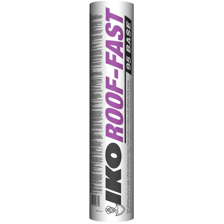IKO:Toiture en rouleau Roof Fast Base de 39-3/8 po largeur x 49 pi longueur
