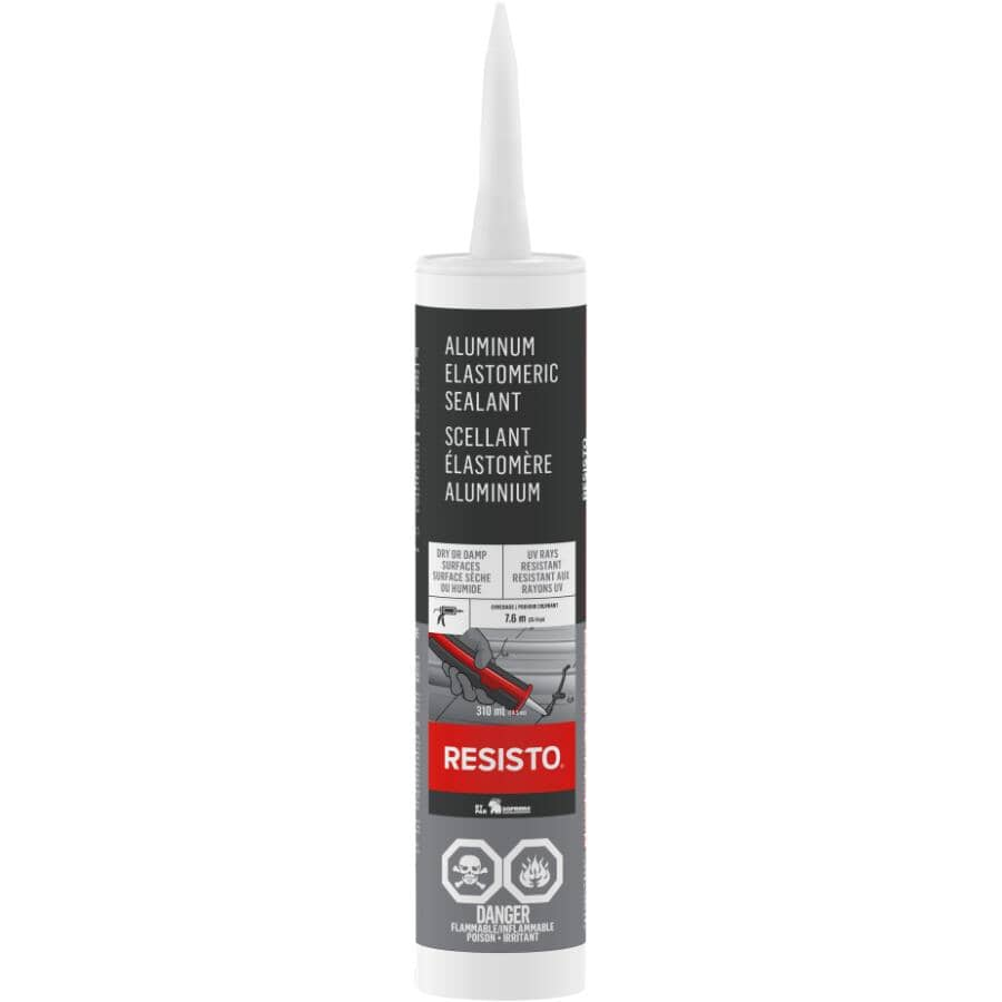 RESISTO:310mL Aluminum Elastomeric Sealer