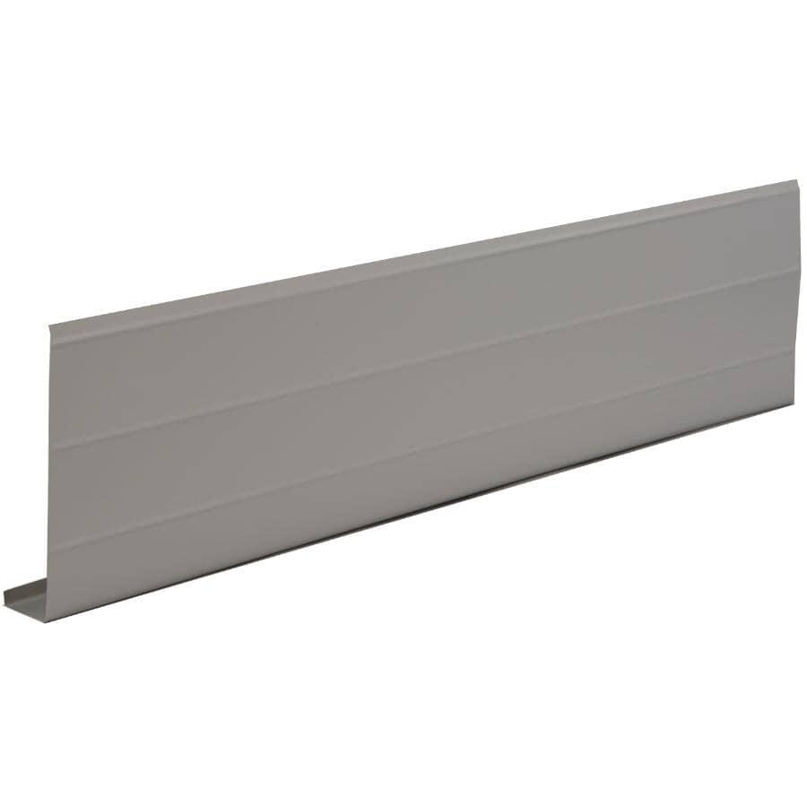 "KAYCAN:1"" x 6"" x 10' Mocha Ribbed Aluminum Fascia"